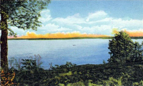Government Point on Lake L'Homme Dieu, Alexandria Minnesota, 1949