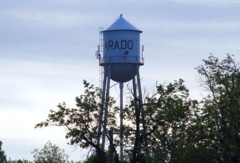 Alvarado Water Tower, Alvarado Minnesota, 2008