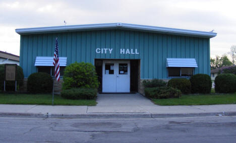 Alvarado City Hall, Alvarado Minnesota, 2008
