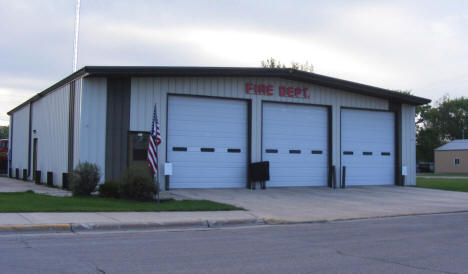 Fire Department, Alvarado Minnesota, 2008
