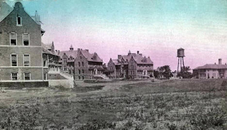 State Hospital for the Insane, Anoka Minnesota, 1910's