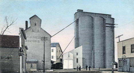 Jennison and Company's Mill and Elevators, Appleton Minnesota, 1908