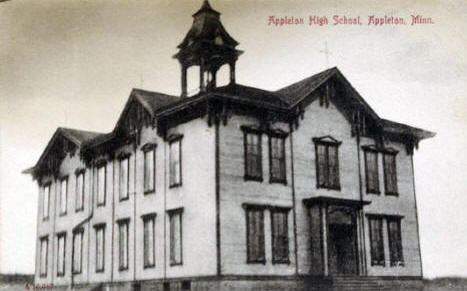 Appleton High School, Appleton Minnesota, 1907