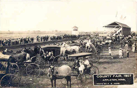County Fair, Appleton Minnesota, 1907