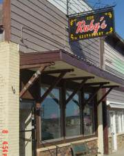 Ruby's City Restaurant, Ashby Minnesota