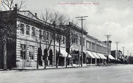 Atlantic Avenue, Atwater Minnesota, 1911
