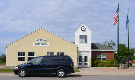 Community and Senior Center, Aurora Minnesota, 2009