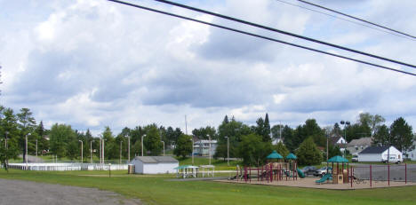 Park and Playground, Aurora Minnesota, 2009