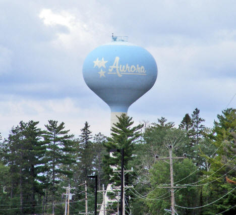 Water Tower, Aurora Minnesota, 2009