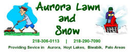 Aurora Lawn and Snow, Aurora Minnesota