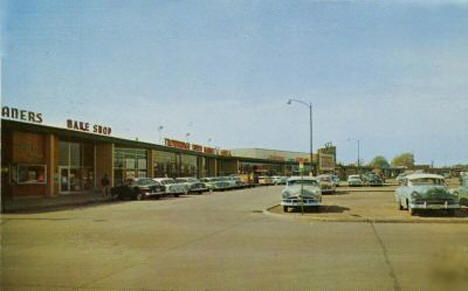 Sterling Shopping Center,  Austin Minnesota, 1957