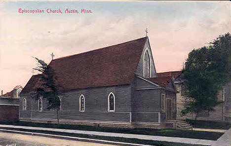 Episcopalian Church, Austin Minnesota, 1910's