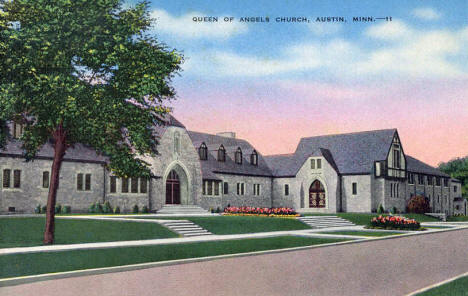 Queen of Angels Church, Austin Minnesota, 1940's