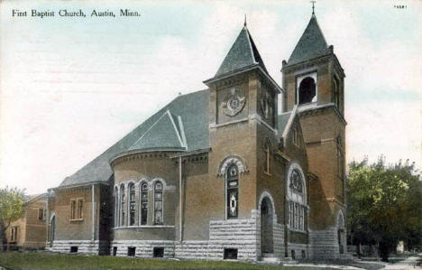 First Baptist Church, Austin Minnesota, 1913