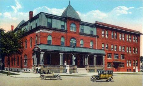 Fox Hotel Austin Minnesota 1920 S
