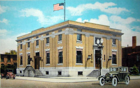 Post Office, Austin Minnesota, 1920's