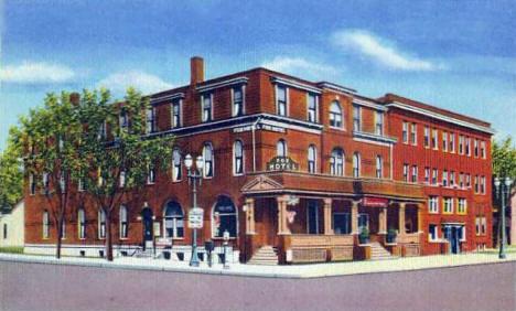 Hotel Fox Austin Minnesota 1945