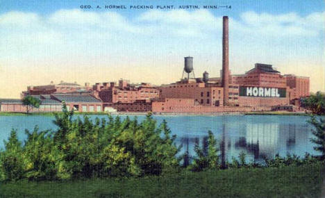 George A. Hormel Packing Plant, Austin Minnesota, 1945