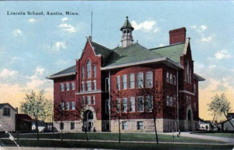 Lincoln School, Austin Minnesota, 1911
