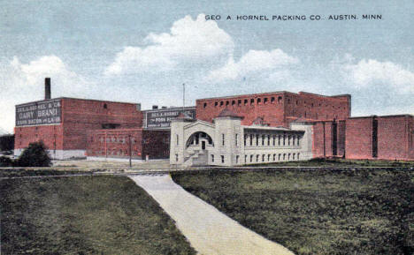 George A. Hormel Packing Company, Austin Minnesota, 1916