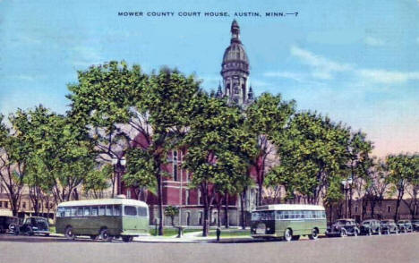 Mower County Court House, Austin Minnesota, 1945