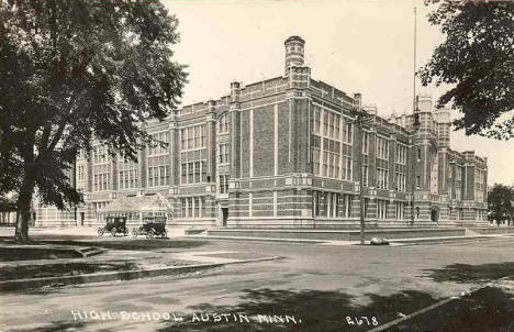 High School, Austin Minnesota, 1920's