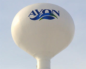 Avon Minnesota water tower