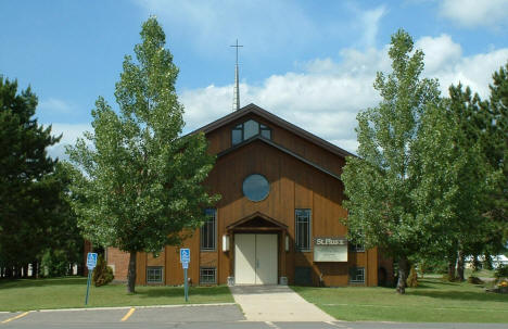 St. Pius Catholic Church, Babbitt Minnesota, 2005
