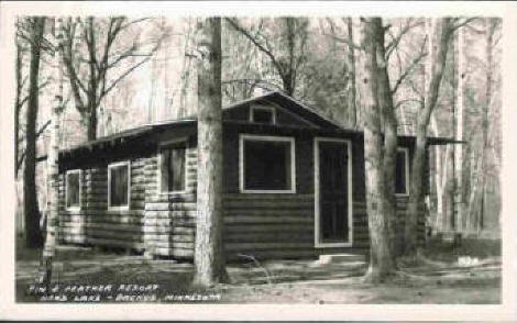 Fin and Feather Resort, Backus Minnesota, late 1940's to early 1950's