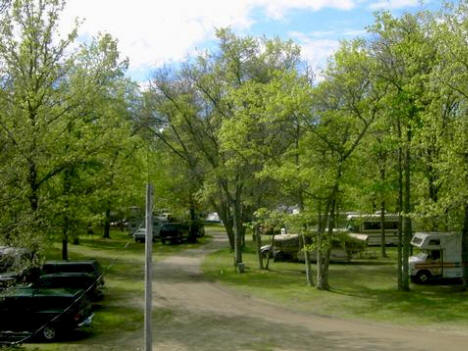 Lindsay Lake Campground. Backus Minnesota - Closed in 2005