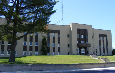 Clearwater County Courthouse, Bagley Minnesota, 2009