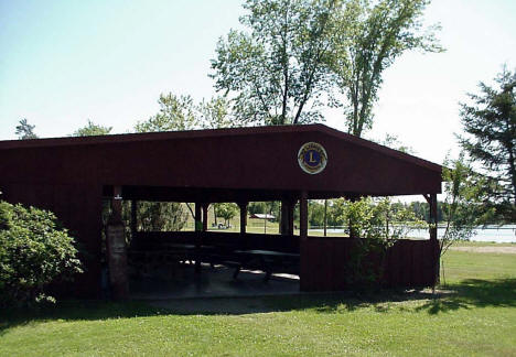 Picnic Shelter, Bagley City Park and Campground, 2007