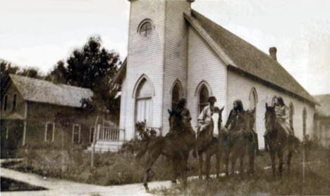 Church, Balaton Minnesota, 1913