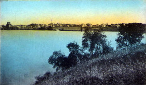 Birds eye view, Balaton Minnesota, 1910