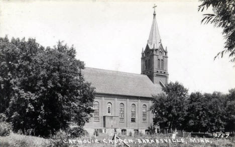 Catholic Church, Barnesville Minnesota, 1930's
