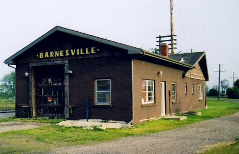 Burlington Northern Depot, Barnesville Minnesota, 2003