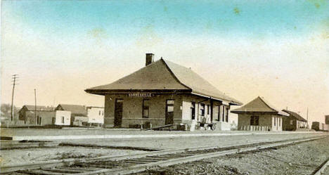 Great Northern Depot, Barnesville Minnesota, 1909