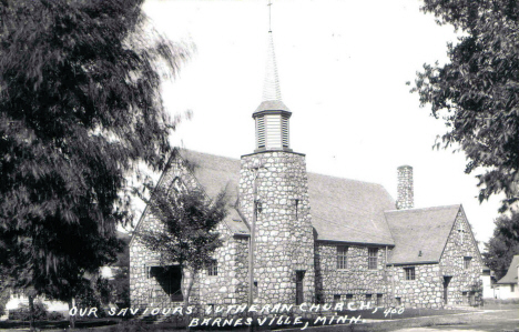 Our Saviours Lutheran Church, Barnesville Minnesota, 1940's