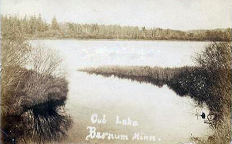 Cub Lake, Barnum Minnesota, 1909