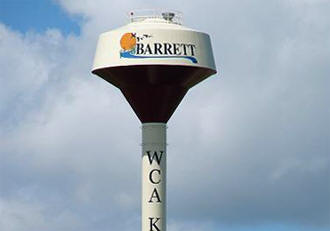 Barrett Minnesota water tower