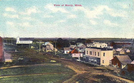 View of Barry Minnesota, 1910