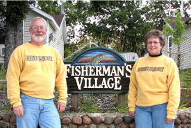 Fisherman's Village Resort, Battle Lake Minnesota
