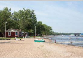 Ottertail Beach Resort, Battle Lake Minnesota