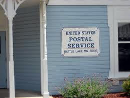 US Post Office, Battle Lake Minnesota