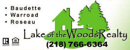 Lake of the Woods Realty Baudette Minnesota