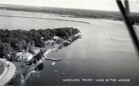 Wheelers Point, Lake of the Woods, Baudette Minnesota, 1940's