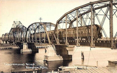 International Bridge, Baudette Minnesota, 1910's