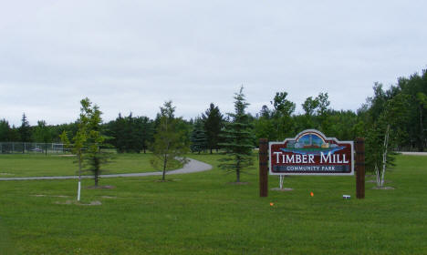 Timber Mill Community Park, Baudette Minnesota, 2009