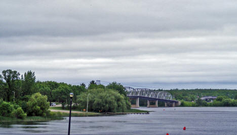 International Bridge, Baudette Minnesota, 2009