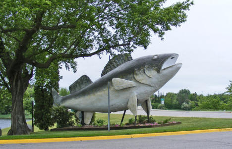 Willie Walleye, Baudette Minnesota, 2009